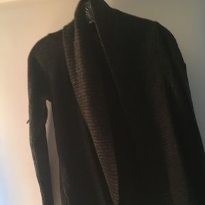 FINAL SALE Forever21 Charcoal/Black Cardigan